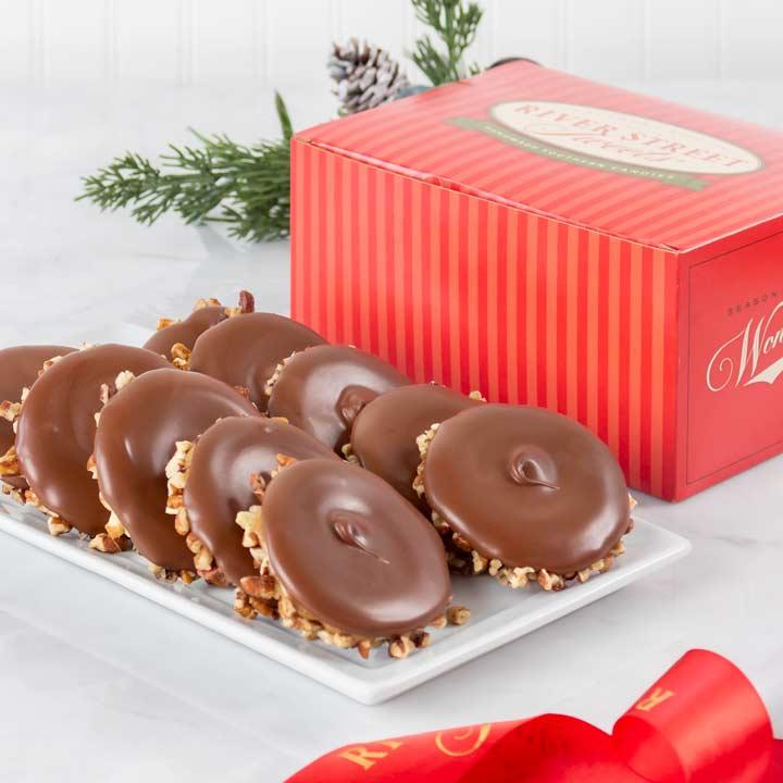 Holiday Box of Milk Chocolate Bear Claws