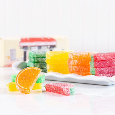 Assorted Fruit Slices, 20pc