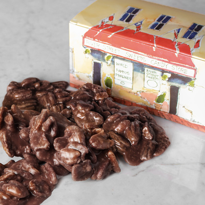 1lb Chocolate Pralines in Historic River Street Gift Box