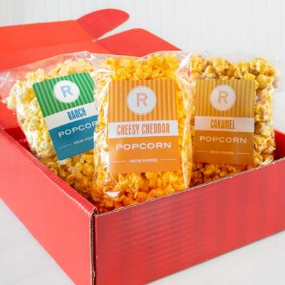Sweet & Salty Popcorn Sampler