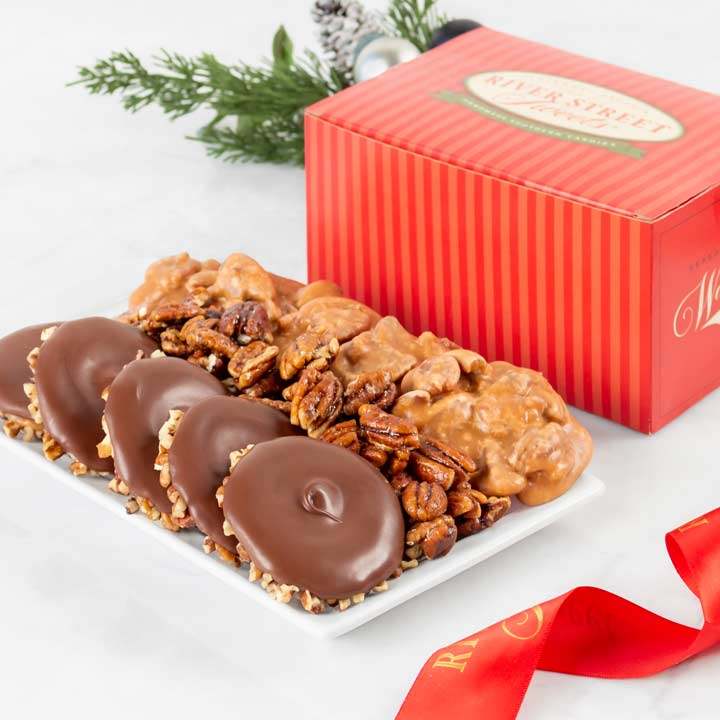 Holiday Collection - Pralines, Bear Claws & Glazed Pecans