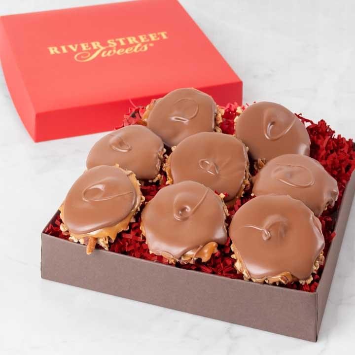 Signature Box of Milk Chocolate Bear Claws