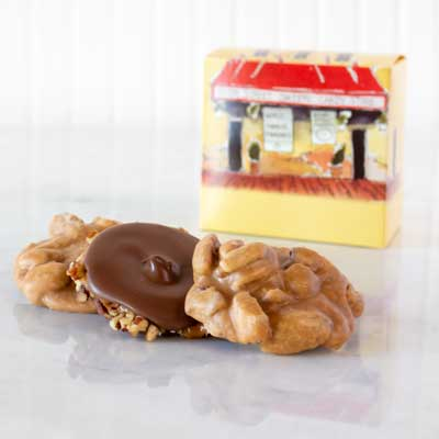 Pralines & Bear Claw in Historic River Street Gift Box (3 pc)