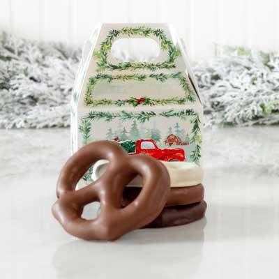 Holiday Treat Pretzels (3 ct)