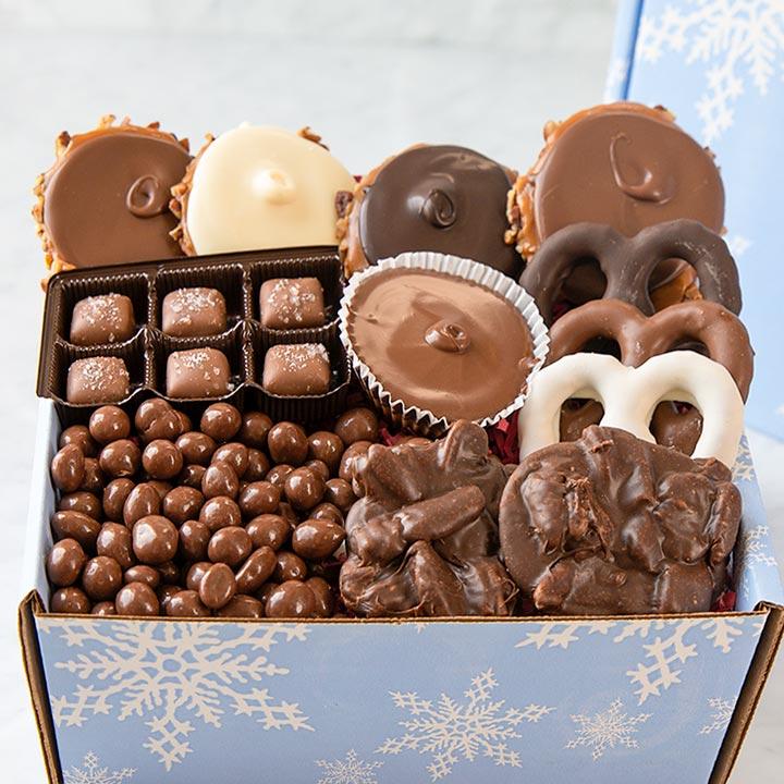 Snowflake Box of Sweets