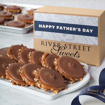 Father's Day Box of Milk Chocolate Bear Claws