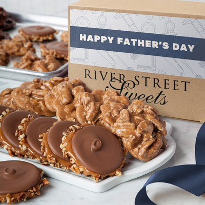 Fathers Day Box of Pralines & Bear Claws