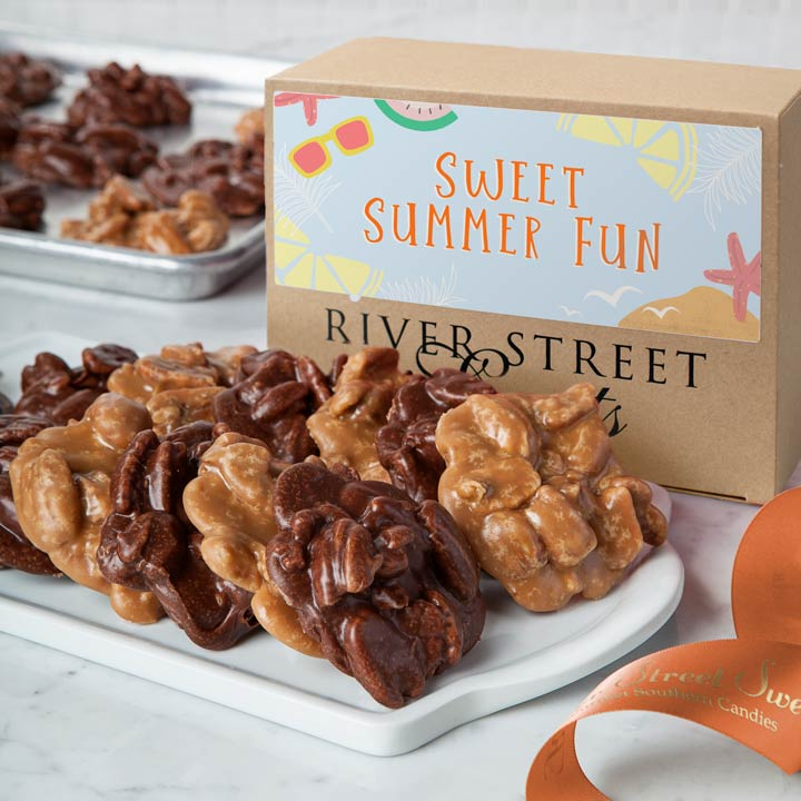 Summer Fun Box of Chocolate & Original Pralines