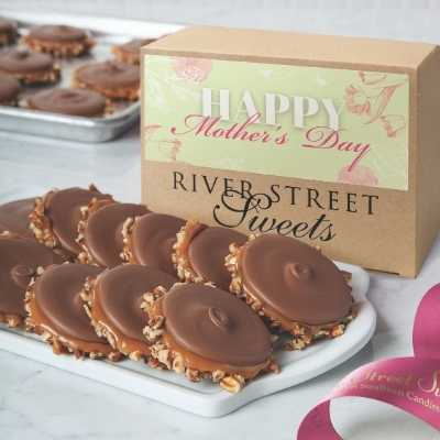 Mother's Day Box of Milk Chocolate Bear Claws