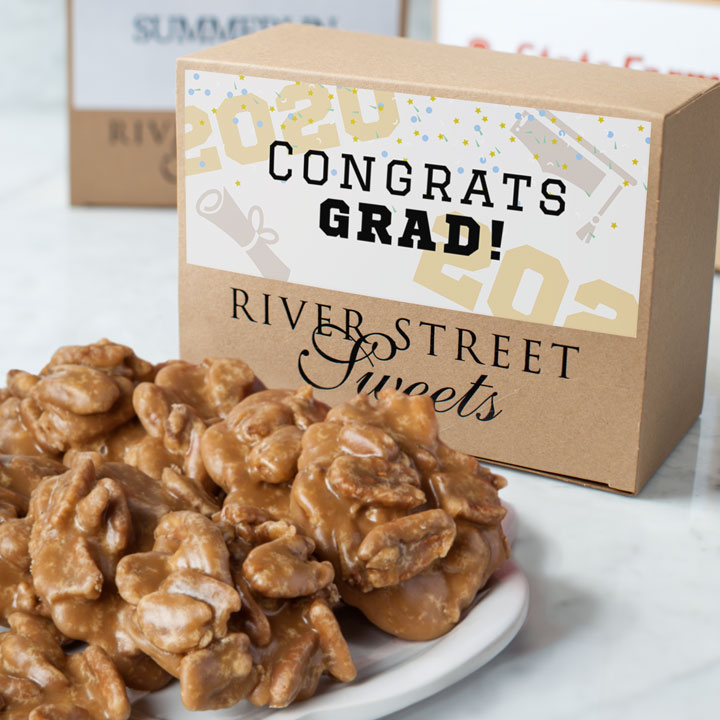 Graduation Pecan Praline Classic Box