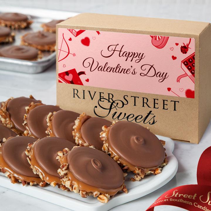 Valentine Box of Milk Chocolate Bear Claws