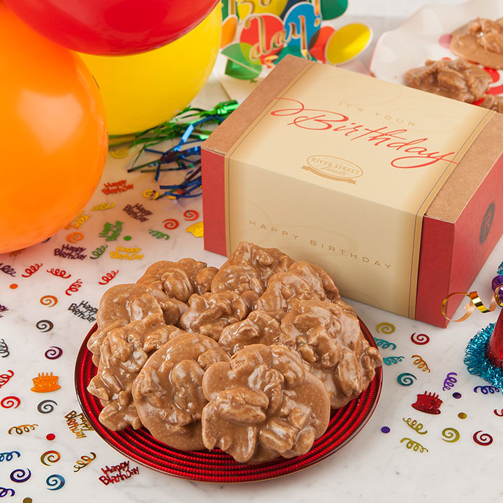 Pecan Praline Birthday Box - 18 piece