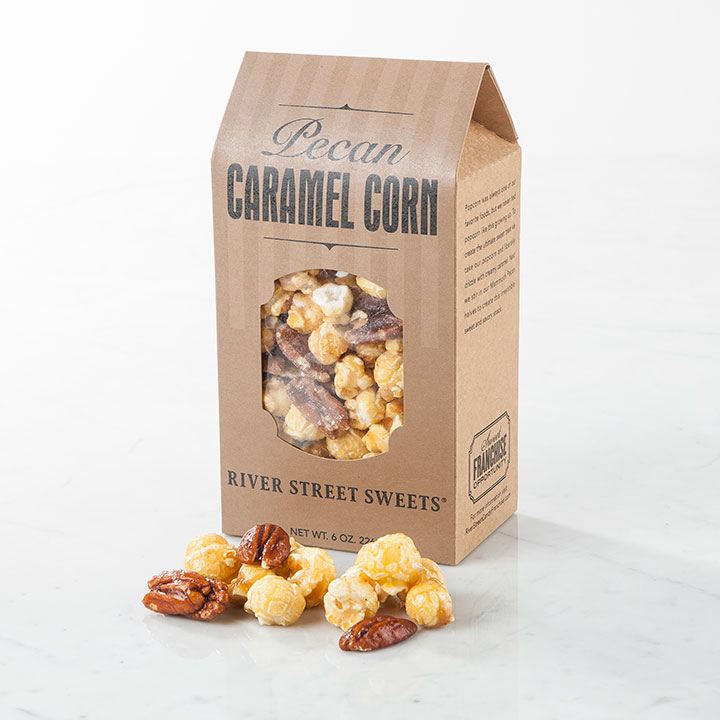 Nutty Caramel Corn Treat Box, 6oz