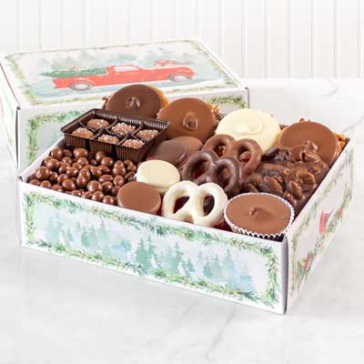 Chocolate Lovers Holiday Gift Box