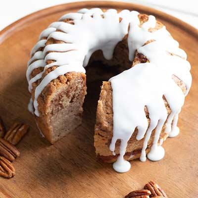 Cinnamon Pecan Cake