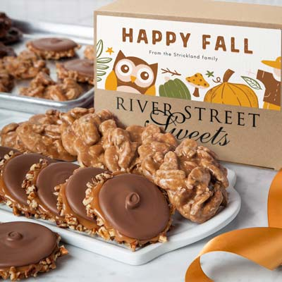 Custom Fall 10pc Praline & Bear Claw Box