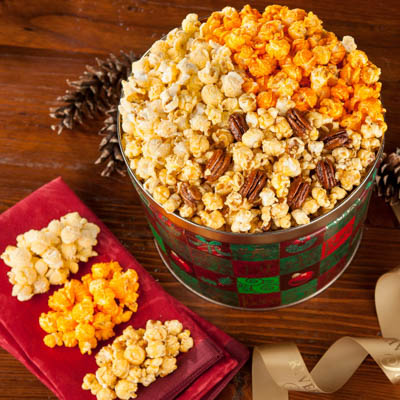 Gourmet Popcorn Holiday Trio