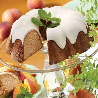 Georgia's Peach Pound Cake