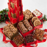 Holiday Candy Gift Towers