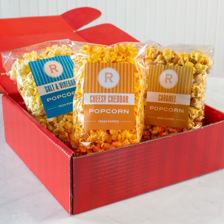 Sweet & Salty Popcorn Sampler