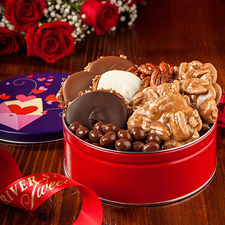 Valentine Tin of Assorted Favorites