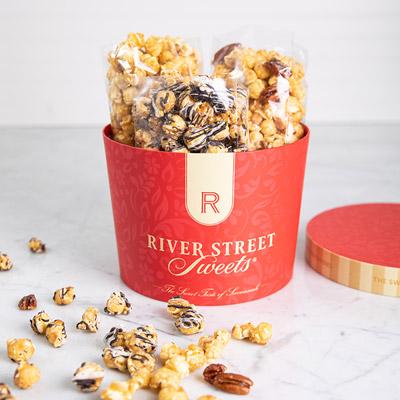 Caramel Popcorn Trio