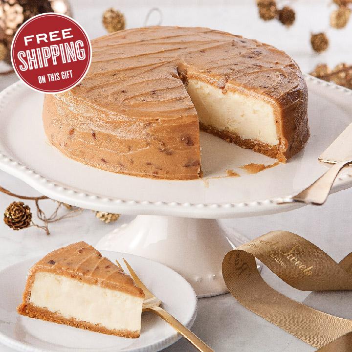 Praline Cheesecakes | Free Shipping