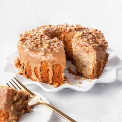 Praline Bundt Cake