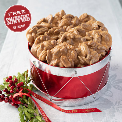 Holiday Drum of Pralines