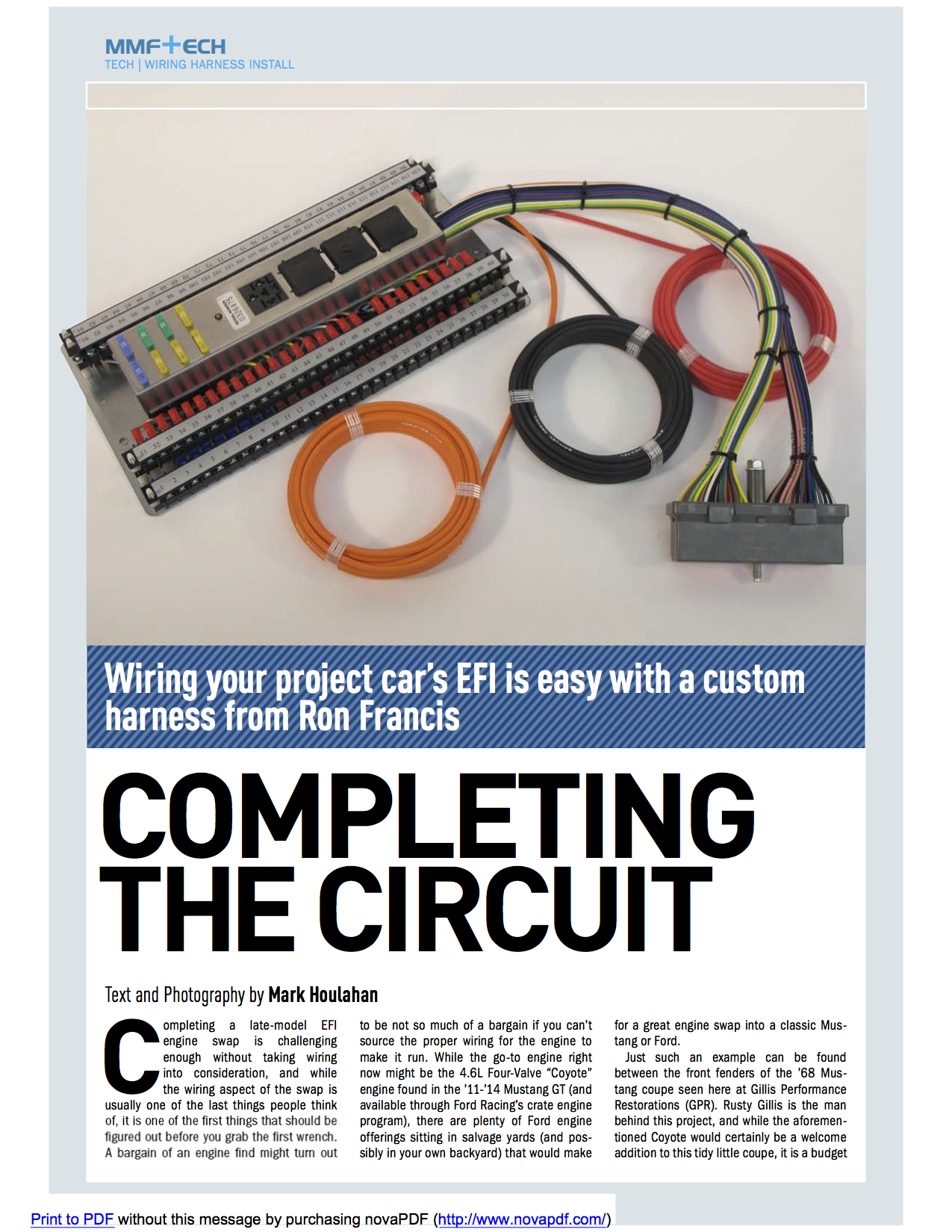 Completing The Circuit Cover