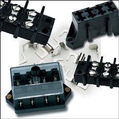 Fuse Blocks, Terminal Blocks & Related