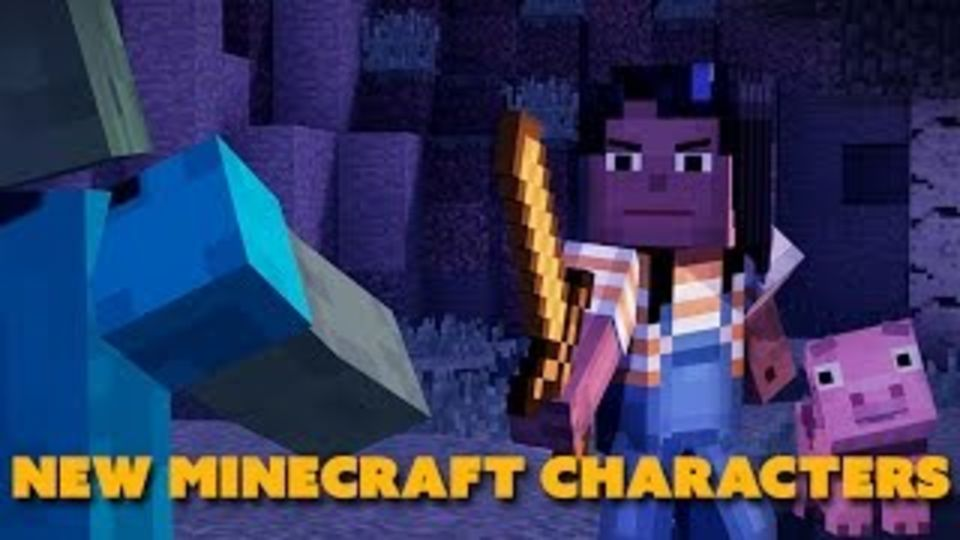 New Minecraft Characters Revealed