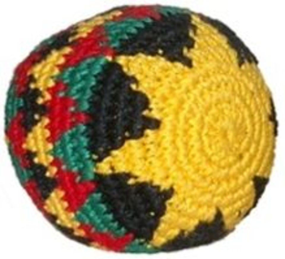 Guatemalan Hacky Sack on Sale for 399 at The Hippie Shop