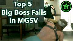 Top 5 Big Boss Falls In MGSV