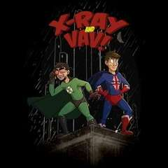 X-Ray and Vav comics