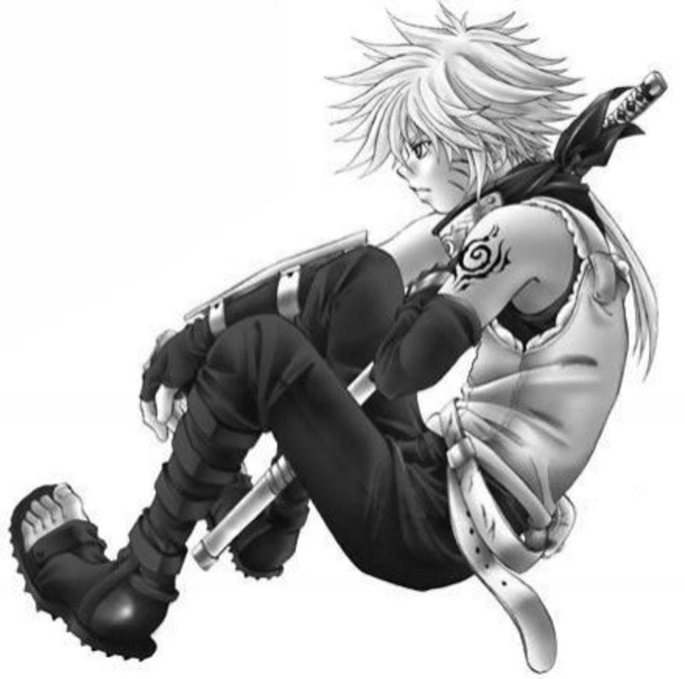 Anime Images Anime Boy White Hair Ninja