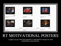 Rooster Teeth Demotivational Posters