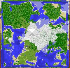 The Official PC Minecraft Achievement City Map