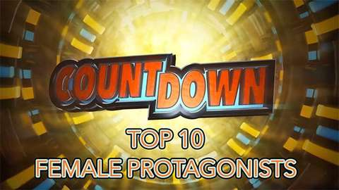 Top 10 Female Protagonists