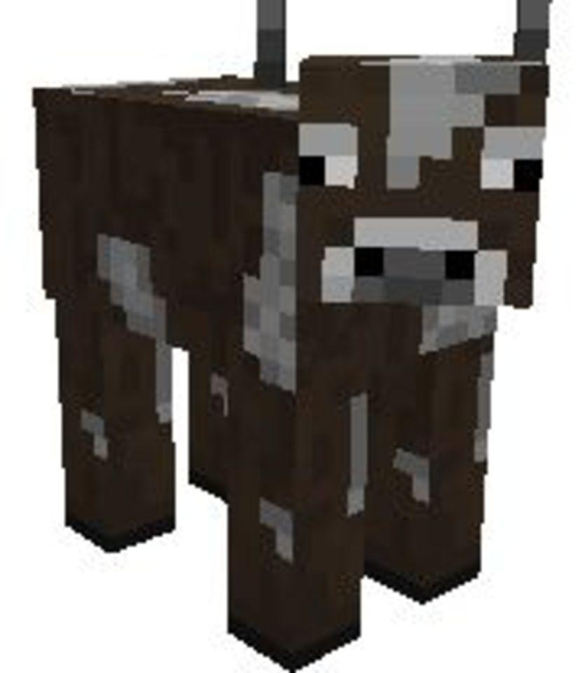 ImageSpace - Minecraft Cow | gmispace com