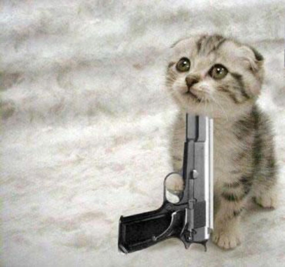 Открытка пристрелю, дед мороз