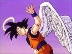 Because he died for us and resurrected to save us... WE LOVE YOU GOKU.