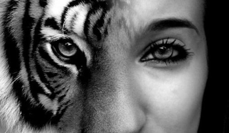 Бабушке день, картинки тигрицы девушка на аву