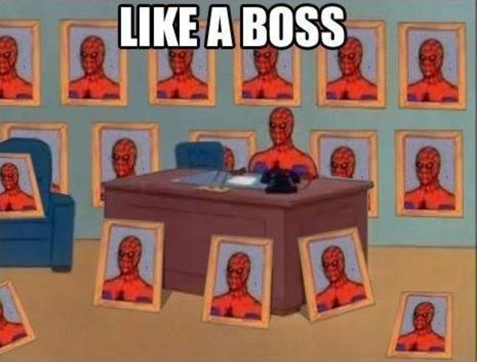 Desk Spiderman  Hilarious pictures with captions  Memescom