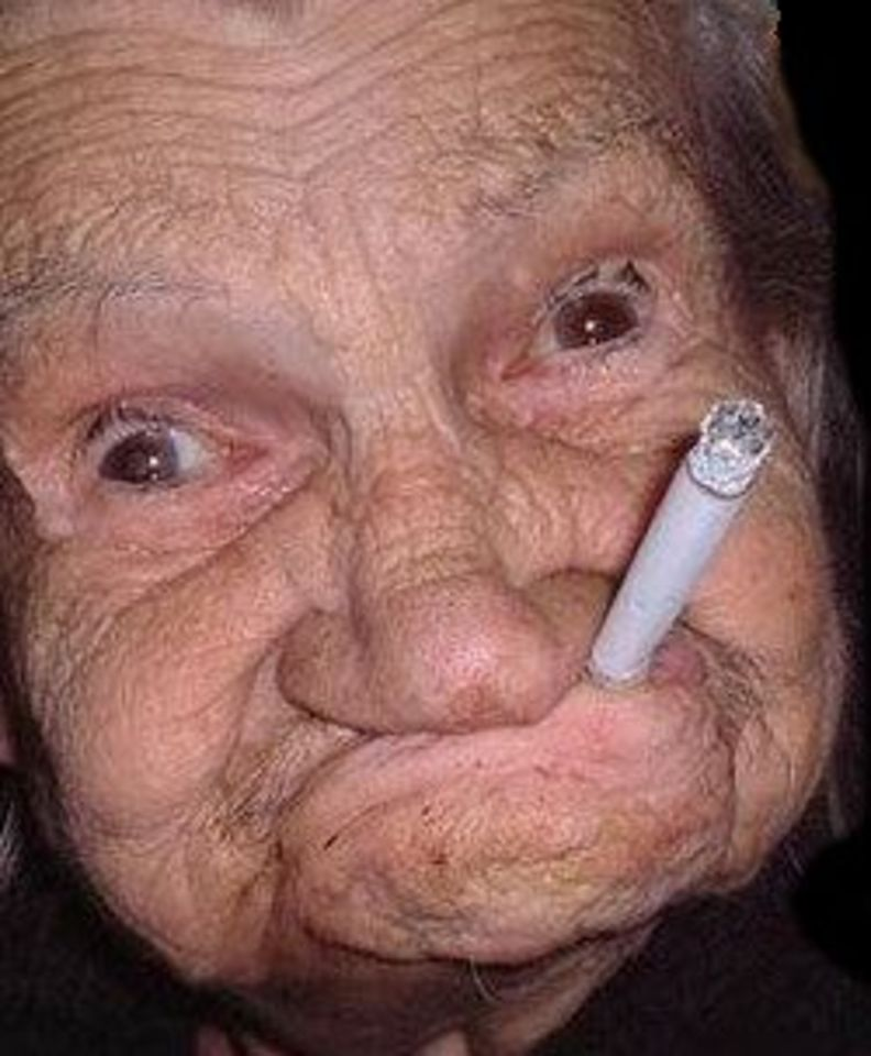 старушка тупо дает - 8