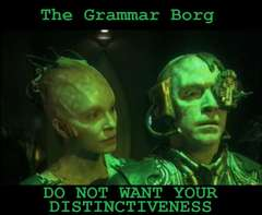 The Grammar Borg