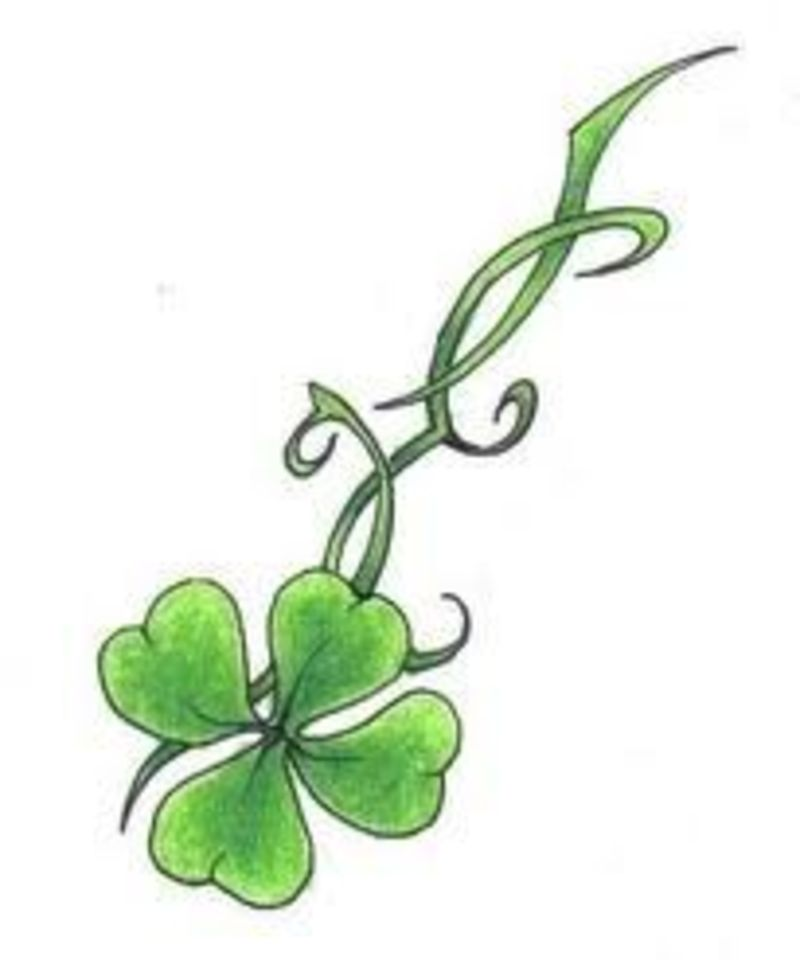 Four Leaf Clover Tattoos  Buzzle  ThoughtfulTattoos