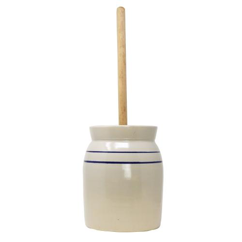 R&H Homestead Stoneware Butter Churn