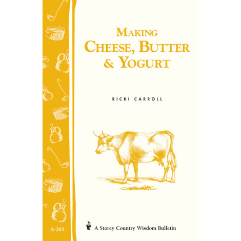 Making Cheese, Butter & Yogurt Book