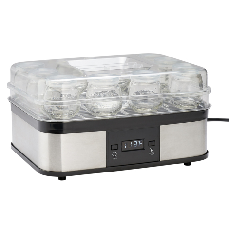 Yogurt Maker With 10 4 oz. Jars